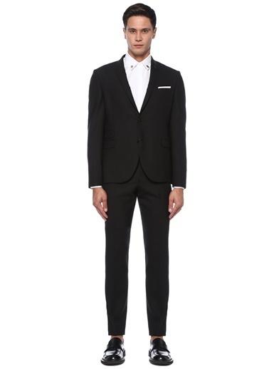 Neil Barrett Neil Barrett  Kelebek Yaka Takım Elbise 101546450 Siyah